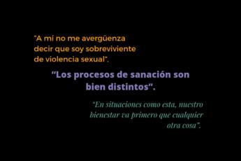 cómo recuperarse de una agresión sexual