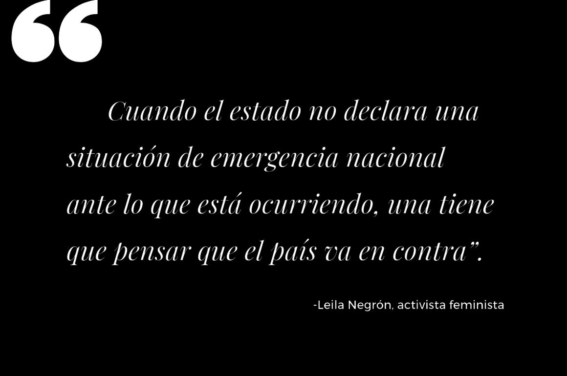 Actividad Voces Unidas / Coordinadora Paz para la Mujer / Cita de Leila Negrón