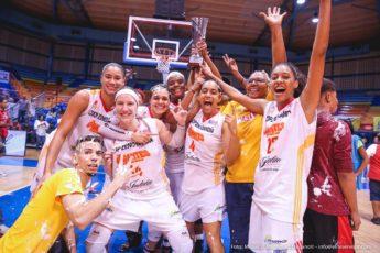 Las Gigantes de Carolina ganan campeonato del Baloncesto Superior Nacional Femenino