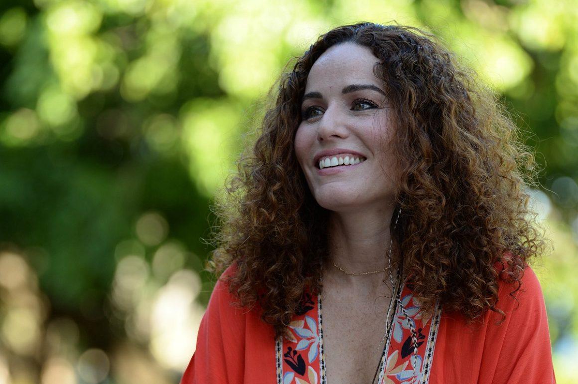 Actriz Isel Rodríguez del colectivo de comedia Teatro Breve