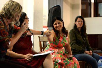 Brenda Hopkins, Mareia Quintero, Ana María Hernández, Adriana Santoni