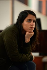 Adriana Santoni, de Plena Combativa, en conversatorio Mujeres en la Música: Desafíos para la equidad