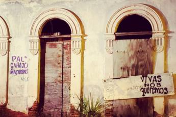 Mensajes en San Germán por asesinato de Valerie Ann Almodóvar