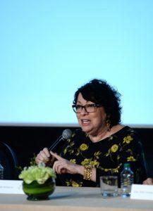 Jueza asociada del Tribunal Supremo de Estados Unidos Sonia Sotomayor