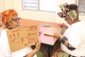 Colectivo Ilé en el Junte de Mujeres
