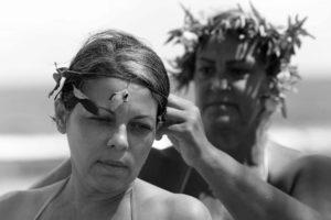 Mujeres que abrazan la mar, Vacía Talega, Piñones