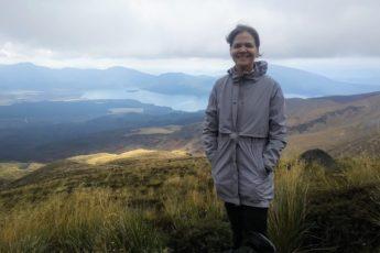 Libni Sanjurjo en Nueva Zelanda