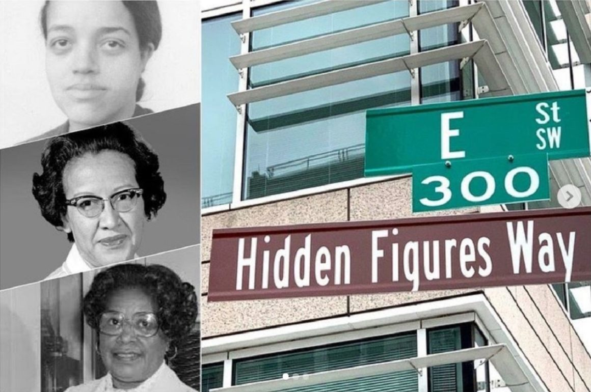 Calle en Washington D.C. honra a tres mujeres científicas de la NASA