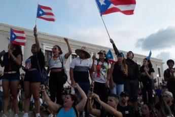 Marcha por la renuncia de Ricardo Rosselló, San Juan, Puerto Rico, Ana María Abruña Reyes