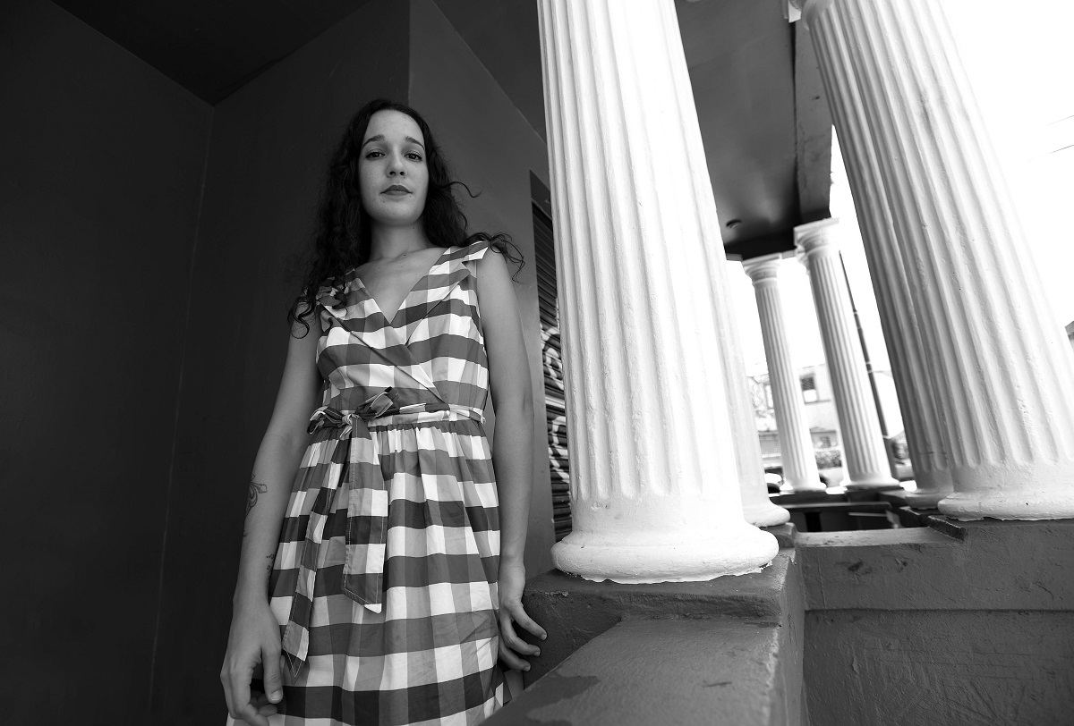 La cantautora Ile en El Boricua, Río Piedras Puerto Rico. Foto por Ana María Abruña Reyes