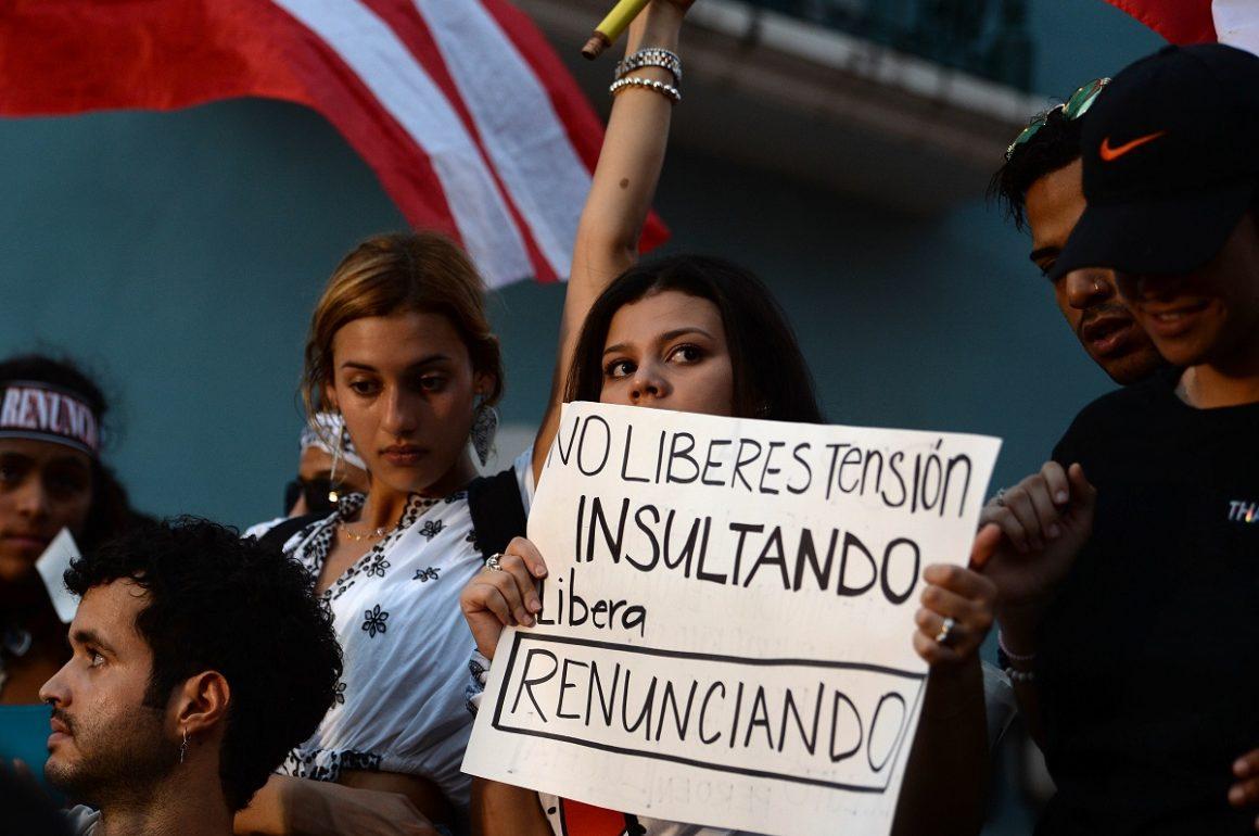 La gente no se quita: décimo día de protestas por la renuncia de Rosselló