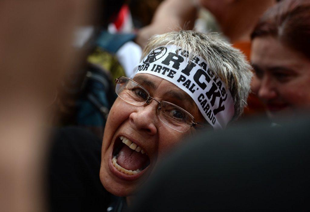 Celebración de la renuncia de Ricardo Rosselló, 2 de agosto de 2019, Ana María Abruña Reyes