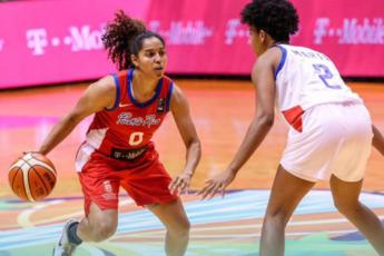 Puerto Rico frente a República Dominicana en AmeriCup 2019 de baloncesto femenino