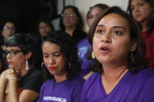 Lourdes Inoa de Taller Salud en reclamo a declaración de estado de emergencia por violencia de género