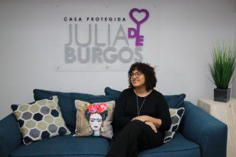 Coraly León Morales, directora ejecutiva Casa Protegida Julia de Burgos