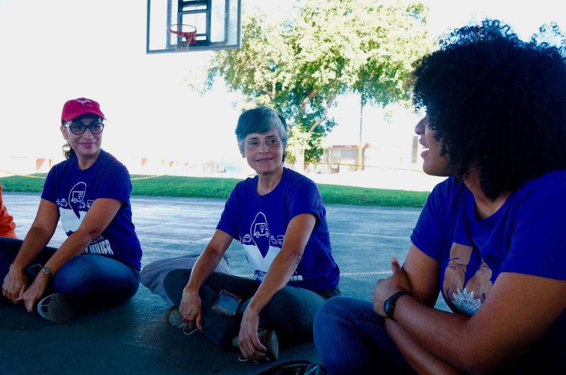 Caravana Violeta Coordinadora Paz para la Mujer
