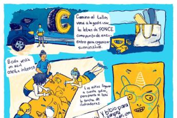 Reportaje ilustrado de Adriana agar_cotidiano
