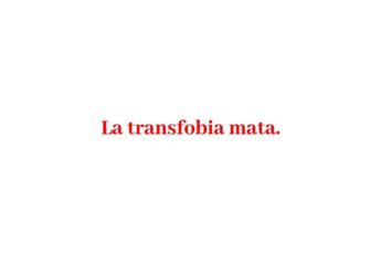 La transfobia mata