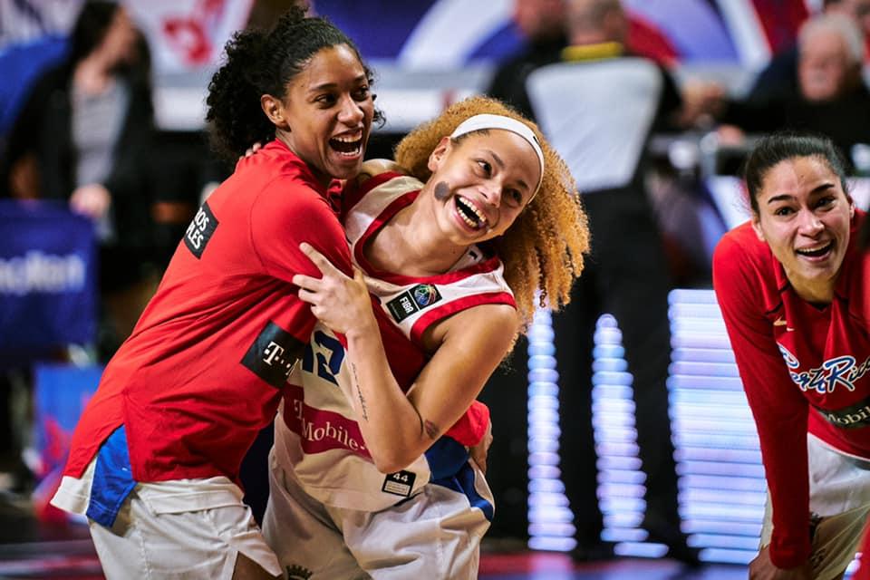 Selección Nacional de baloncesto de mujeres