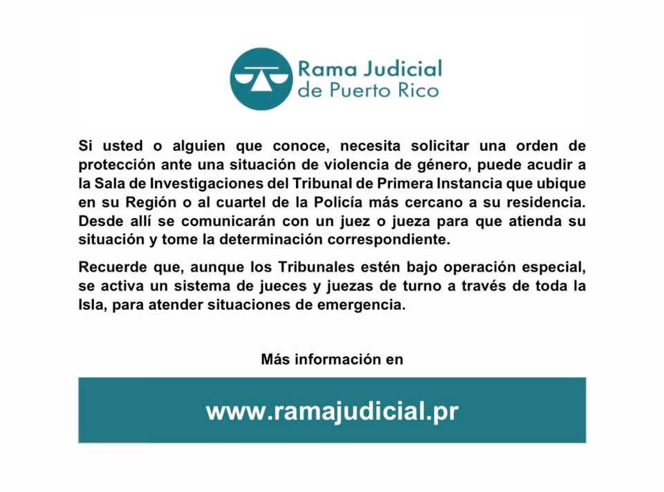 Rama Judicial en periodo de distanciamiento social