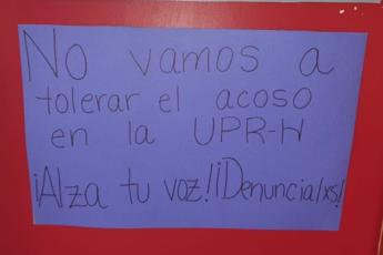 Acoso en UPR Humacao