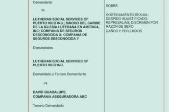 Demanda por hostigamiento sexual iglesia luterana y pastor David Guadalupe