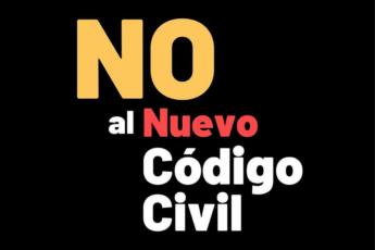 No al nuevo código civil