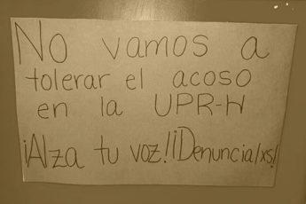 Hostigamiento sexual en la UPR de Humacao