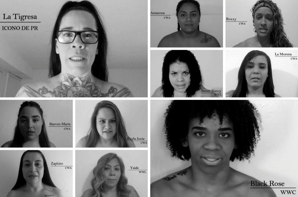 Mujeres en la lucha libre Puerto Rico