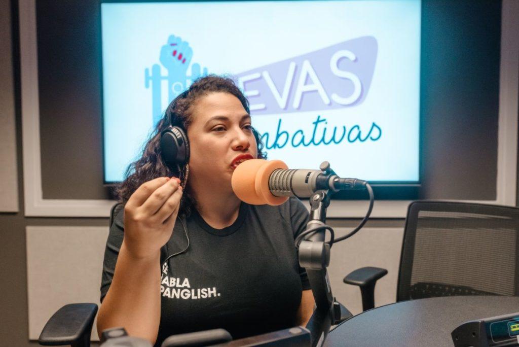 Stephanie Loraine Piñeiro, productora y copresentadora de Jevas Combativas