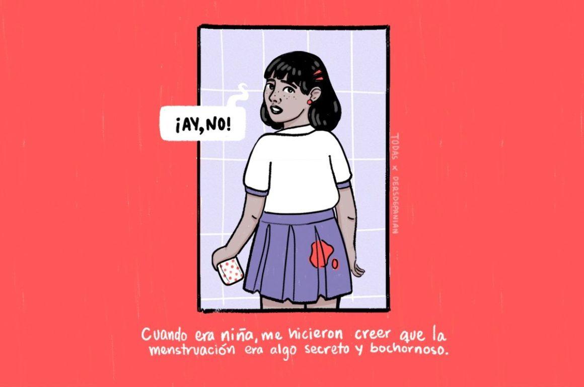 Educación sobre menstruación en Puerto Rico - Imagen de Michelle Dersdepanian