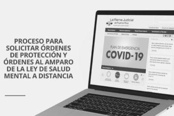 Cómo solicitar orden de protección por internet