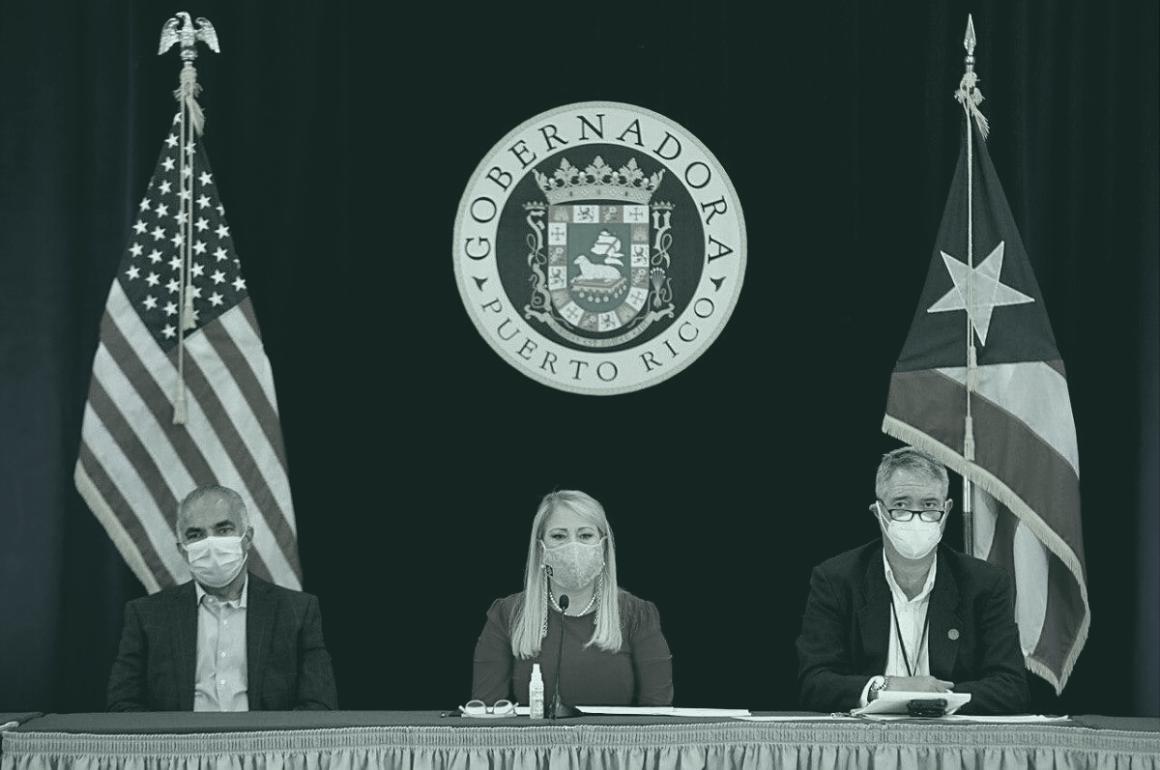 Gobernadora Wanda Vázquez Garced en mensaje sobre COVID-19