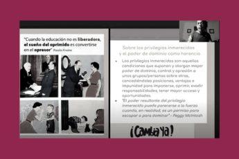 Taller 3 del Programa de formación de jóvenes líderes contra la violencia machista