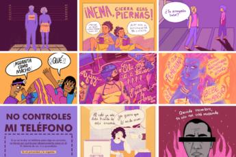 Ilustradoras de ¡Cambia ya!
