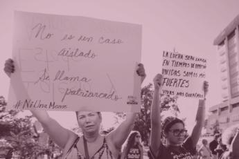 No es un caso aislado se llama patriarcado
