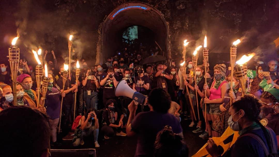 Entre la rabia y la tristeza, exigen justicia para las desaparecidas y asesinadas