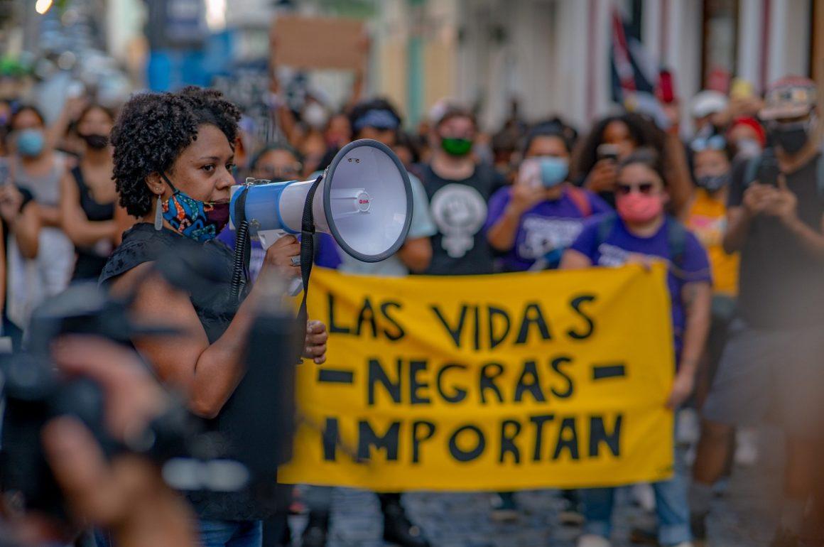 Bárbara Abadía Rexach Las vidas negras importan Puerto Rico