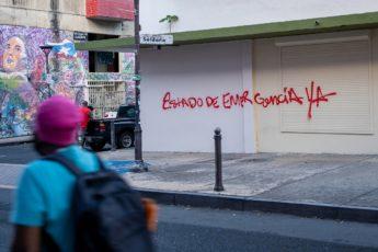 Estado de Emergencia / Foto por Claudia Carbonell