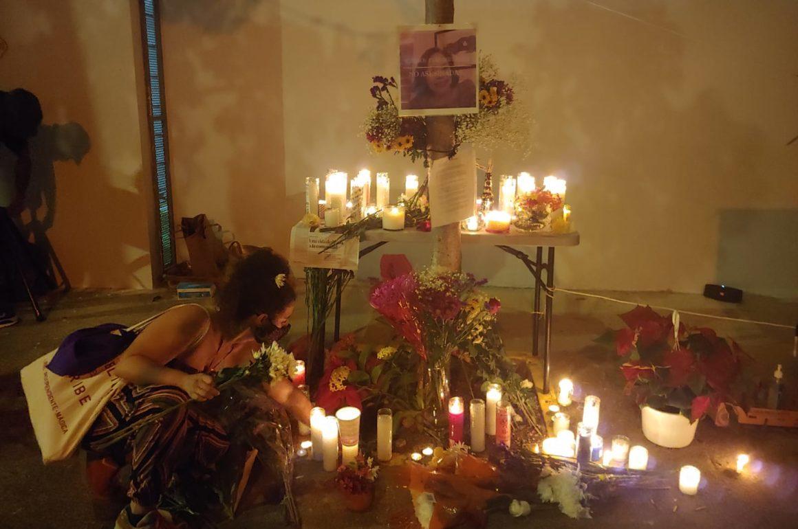 Rinden honor a la memoria de Nilda y reclaman justicia