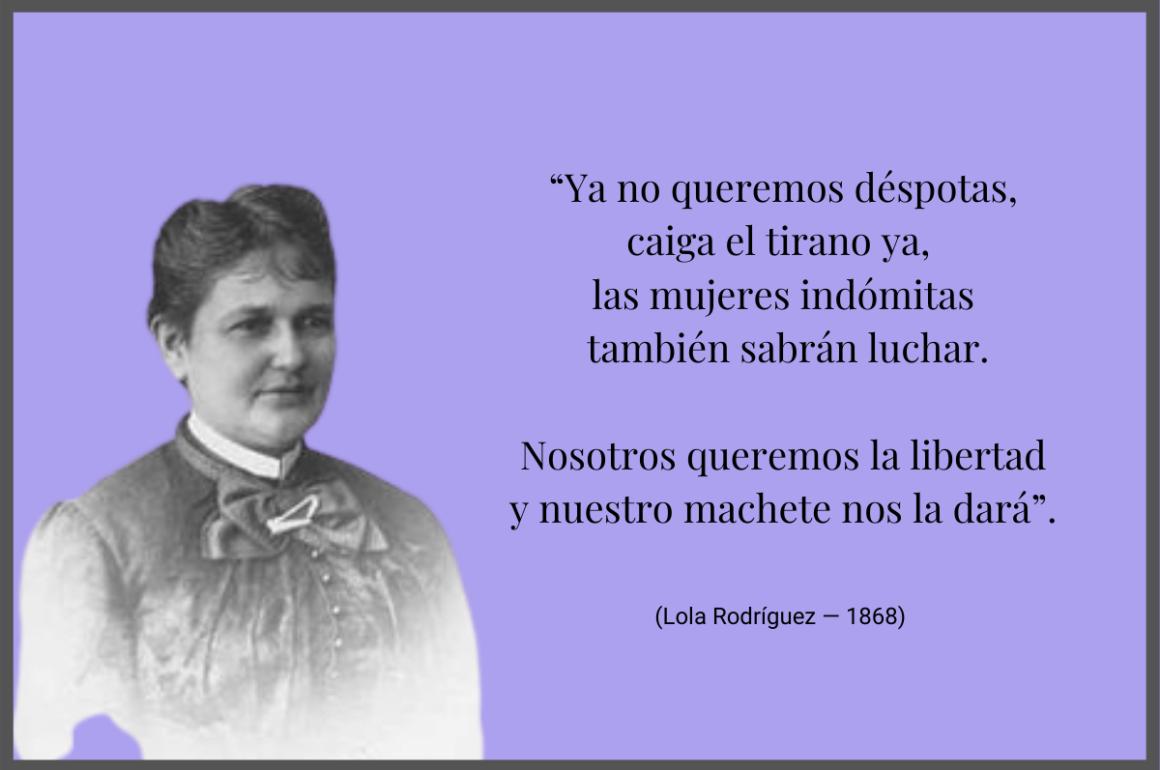 Lola Rodríguez y La Borinqueña