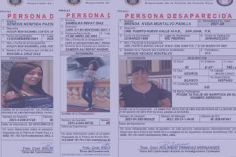 Mujeres y niñas desaparecidas