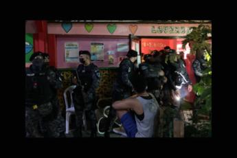 Intervención de la Policía Municipal de San Juan en Loverbar