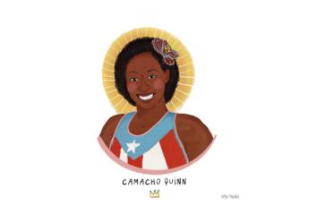 Jasmine Camacho Quinn por Mya Pagán